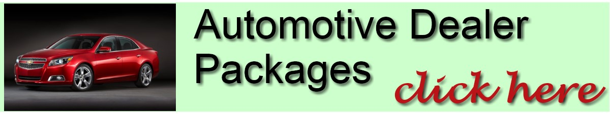 Automotive Dealer Packages