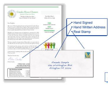 Direct Mail Hand Written Envelopes