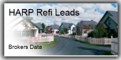 HARP Refi Leads from Brokers Data